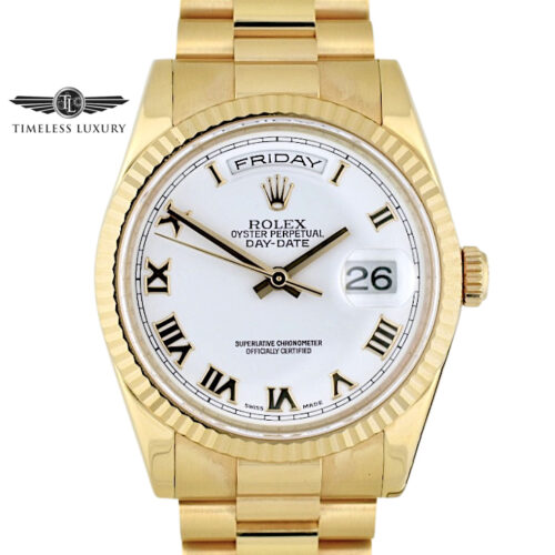 Rolex 118235 Day-Date President 18k Rose Gold 36mm