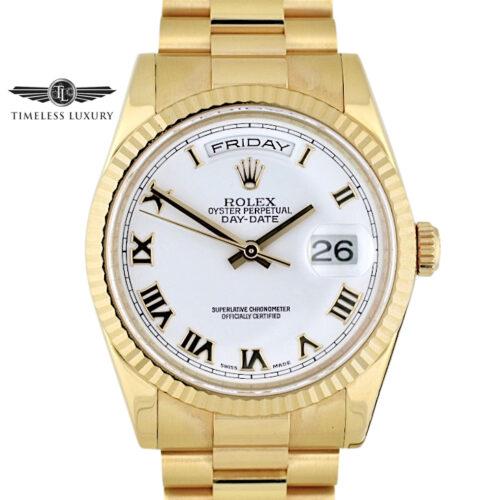 Rolex 118235 Day-Date President 18k Rose Gold 36mm
