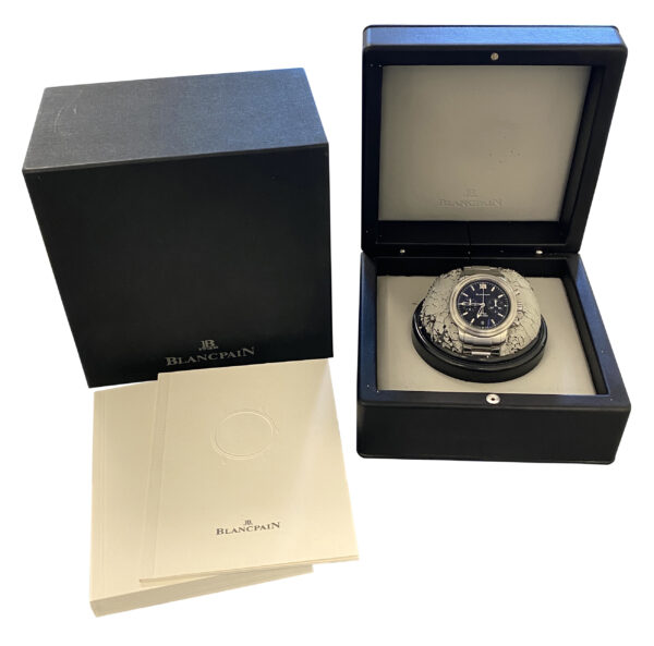 Blancpain Leman Aqua Lung Flyback 2182F-1130A-71 FOR SALE