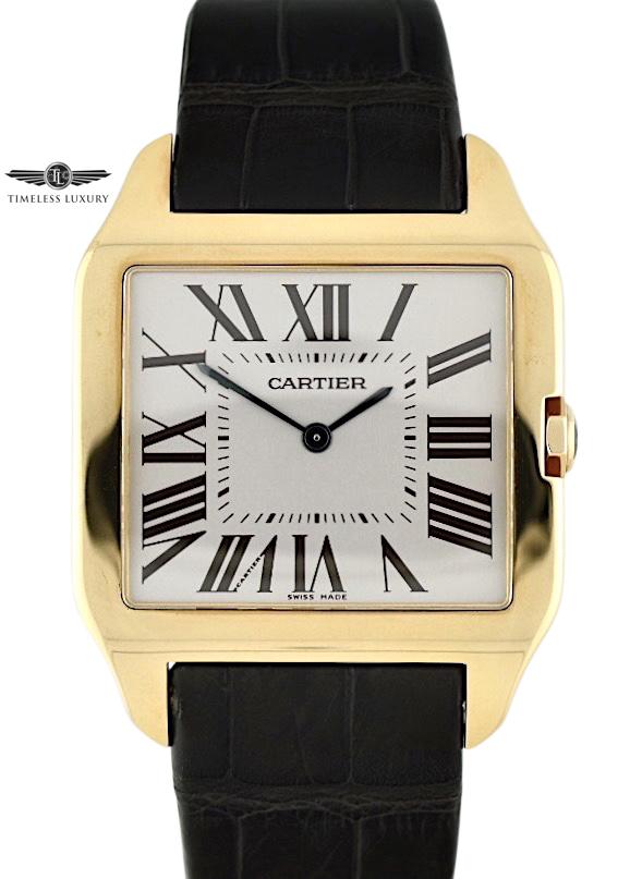 Cartier Santos Dumont W2006951 ROSE GOLD