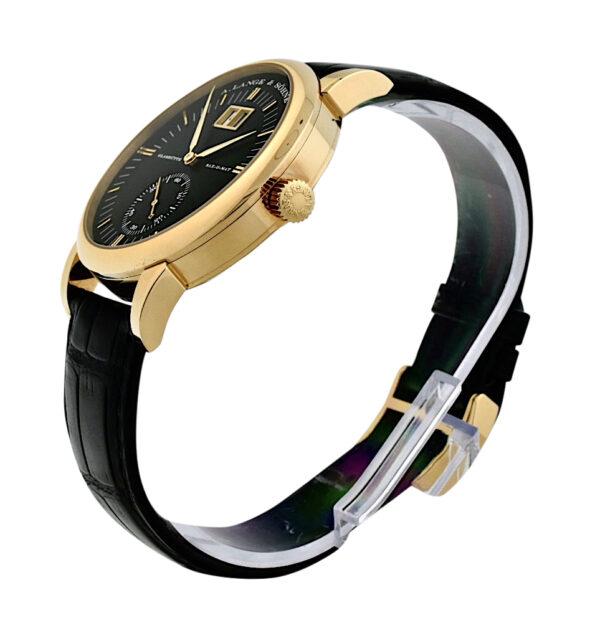 A. Lange & Sohne Grand Langematik 309.031 Black dial watch