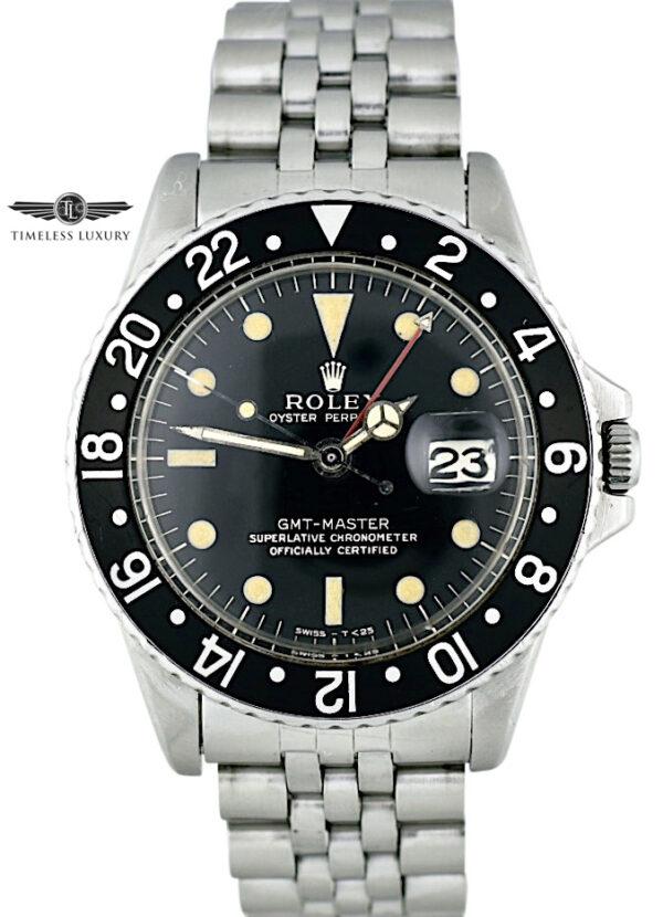 1966 Rolex GMT-Master 1675 Gloss Gilt Dial
