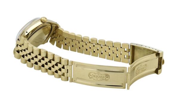 Rolex Date 15007 Chevrolet logo watch
