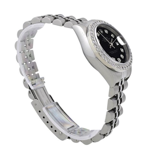 Rolex datejust 79160 diamond bezel