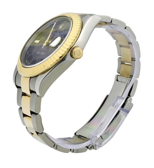Rolex Datejust II 116333 Slate Roman Dial