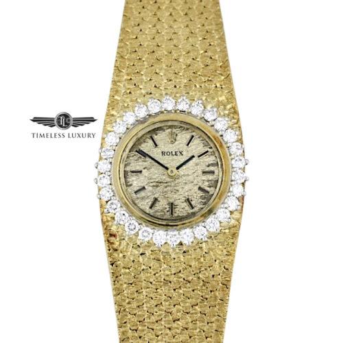 Vintage Ladies Rolex Diamond Cocktail Watch 8192