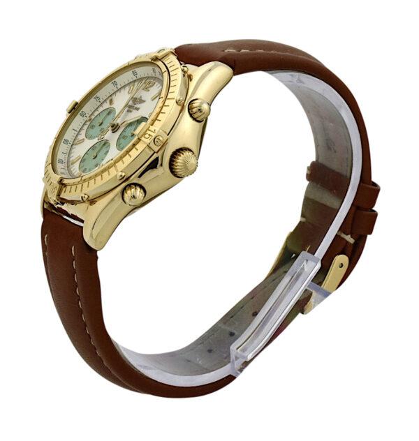 Breitling Chronomat K30012 MOP Dial 18k gold