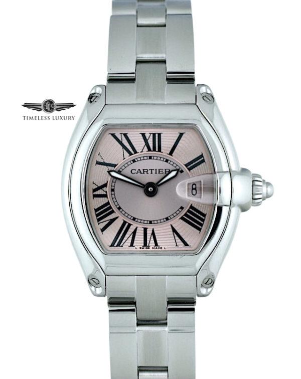Ladies Cartier Roadster 2675 Pink dial