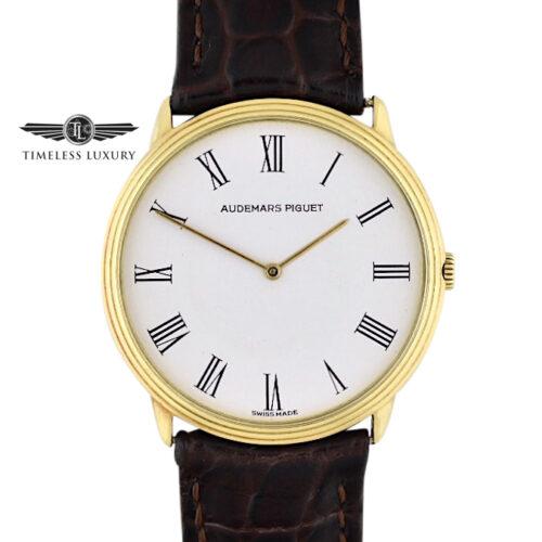 Audemars Piguet Classic Yellow Gold Quartz Watch