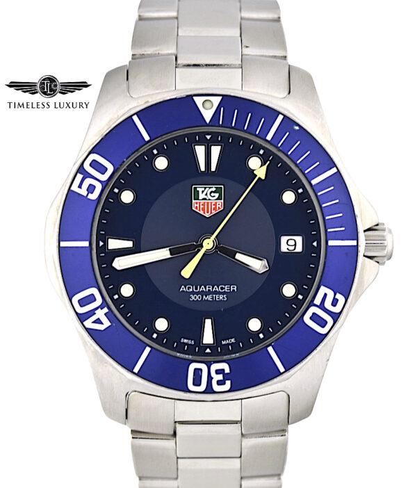TAG Heuer Aquaracer WAB1112 Blue dial