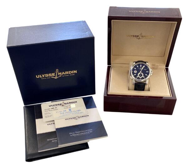 Men's Ulysse Nardin Dual Time 243-55 For sale