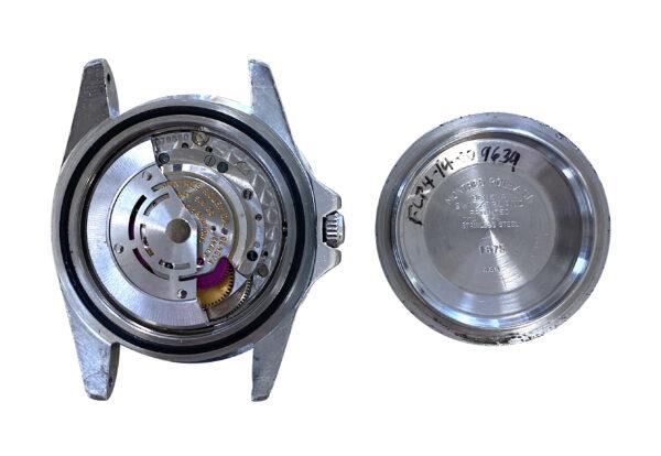1966 Rolex GMT-Master case back
