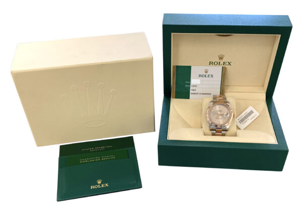 Men's Rolex Datejust 41mm 126331 Sundust Diamond Dial For sale