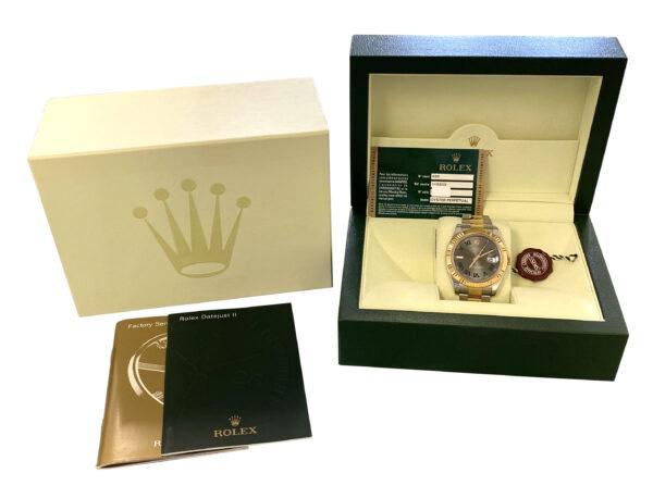 Rolex Datejust II 116333 Wimbledon Dial For sale