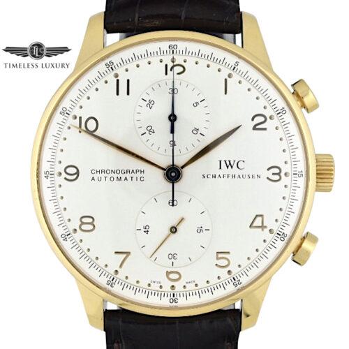IWC Portuguese IW371416 18k Yellow gold
