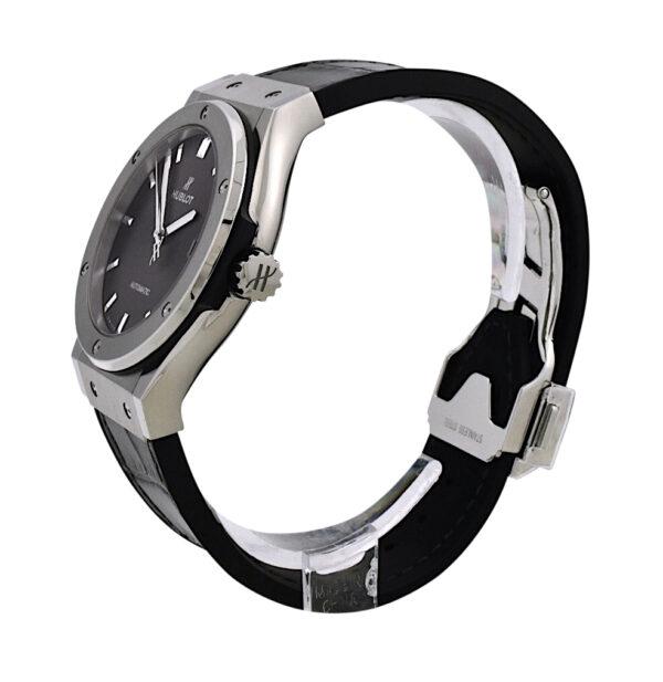 Hublot classic fusion titanium grey dial