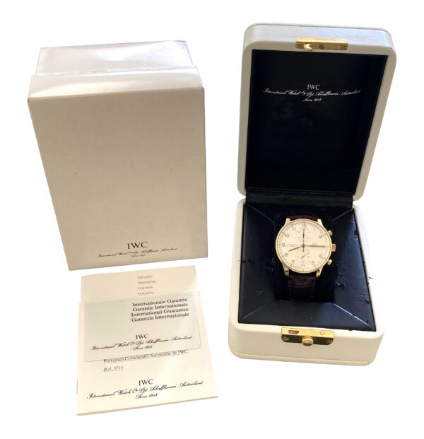IWC Portuguese 18k Yellow Gold IW371416 FOR SALE
