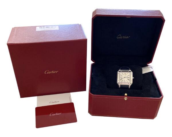 Men's Cartier Santos Dumont WSSA0022 Quartz For sale