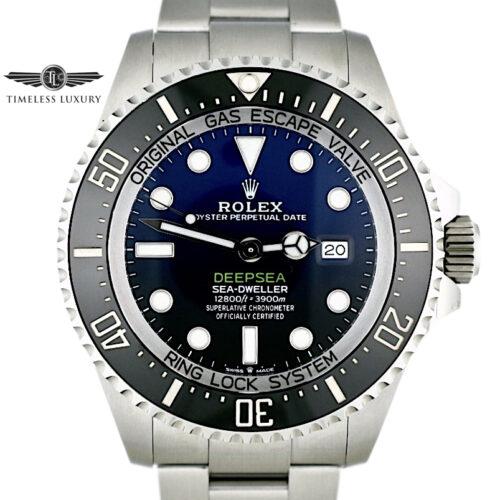 2020 Rolex Deepsea 126660 Blue James Cameron For sale