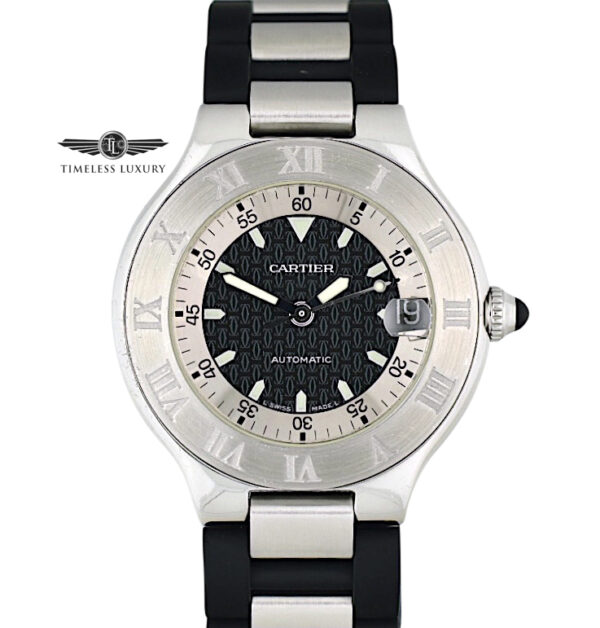 Cartier Autoscaph 21 Stainless steel 2427