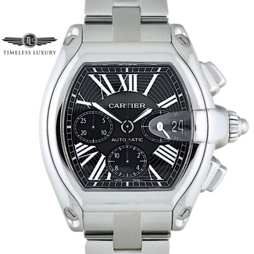 Cartier Roadster XL Chronograph Black dial 2618
