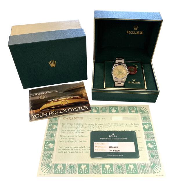 Rolex Oysterdate 6694 Saudi Fund for development logo dial for sale