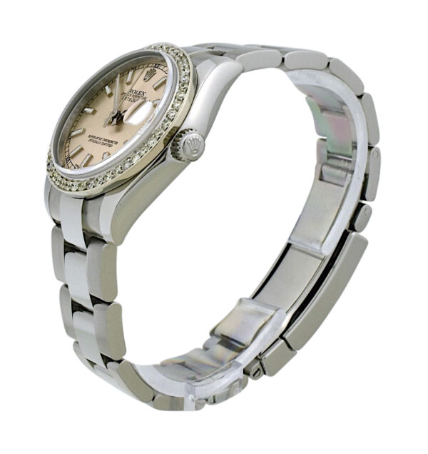 Ladies Rolex Datejust 178240 31mm diamond bezel