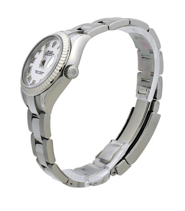 Ladies Rolex Datejust 279174 white roman dial