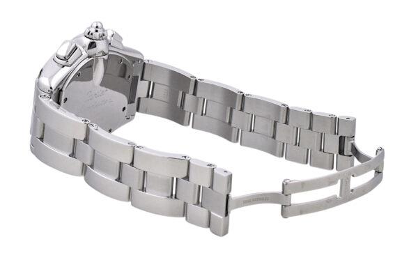 Men's Cartier Roadster XL Chronograph W62020X6 Black Dial Watch 2618
