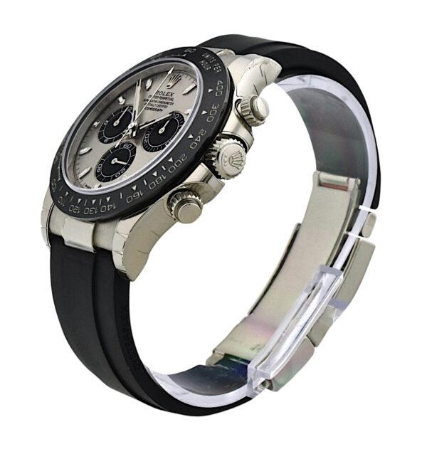 Rolex Daytona 116519 White Gold steel dial