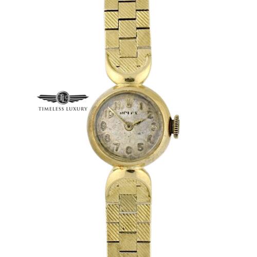 Vintage Rolex Cocktail Watch 18k Gold