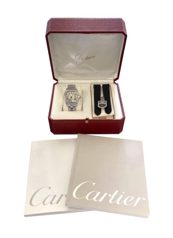 Ladies Cartier roadster quartz W62016V3