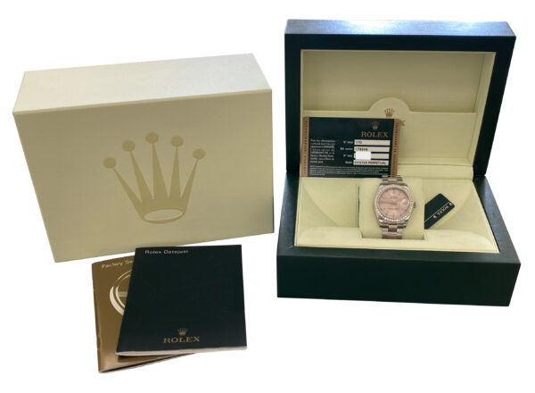 Ladies Rolex Datejust 31mm 178240 pink dial for sale