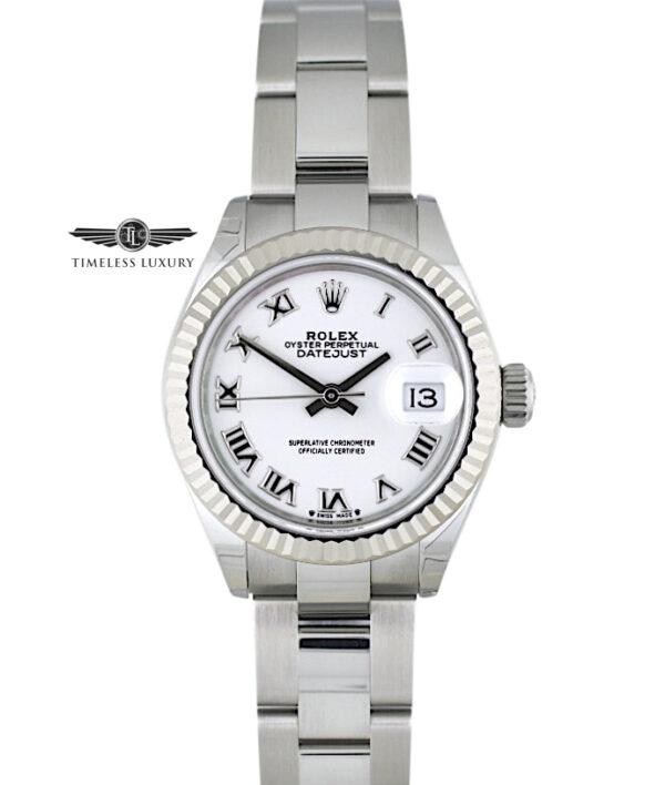 2021 Rolex Datejust 279174 white dial