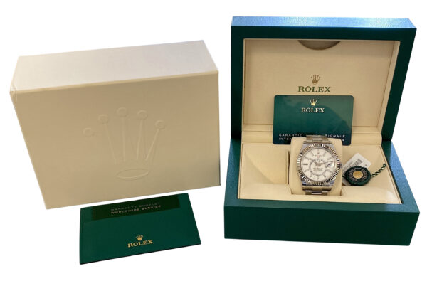 2020 Rolex Sky-Dweller 326934 white dial for sale