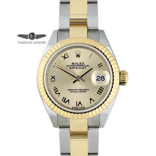 Ladies Rolex Datejust 279173 steel & gold 28mm