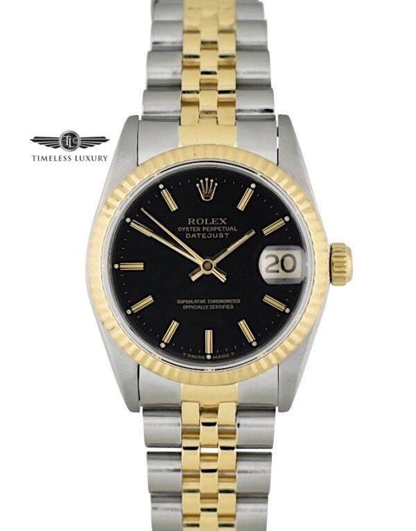 Ladies Rolex Datejust Midsize 31mm 68273