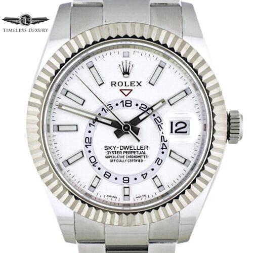 Rolex Sky-Dweller 326934 white dial