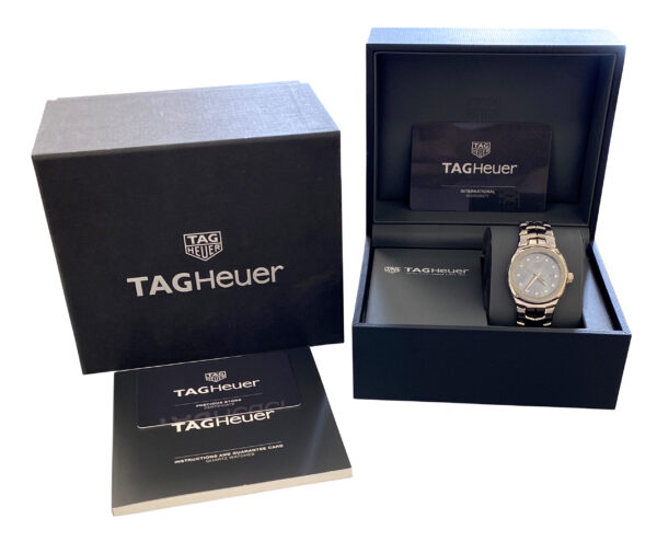 Ladies TAG Heuer LINK WBC1313 Blue diamond dial for sale