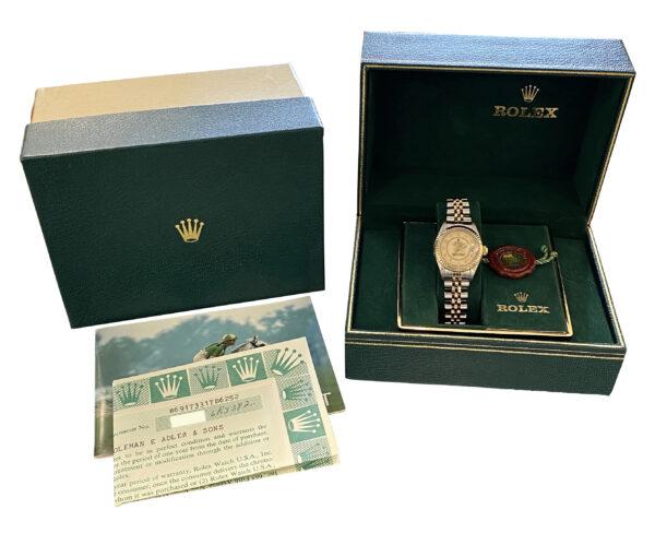 IMG 1052 2 600x488 - Ladies Rolex Datejust 26mm