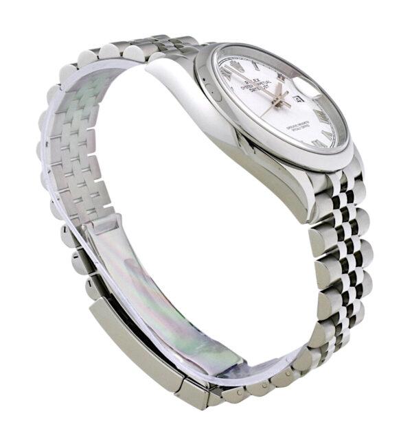 Rolex datejust 126200 White dial
