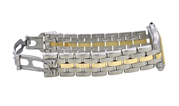 Ladies Cartier Panthere single gold row