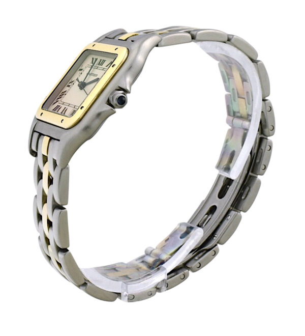 Ladies Cartier Panthere Midsize steel & gold