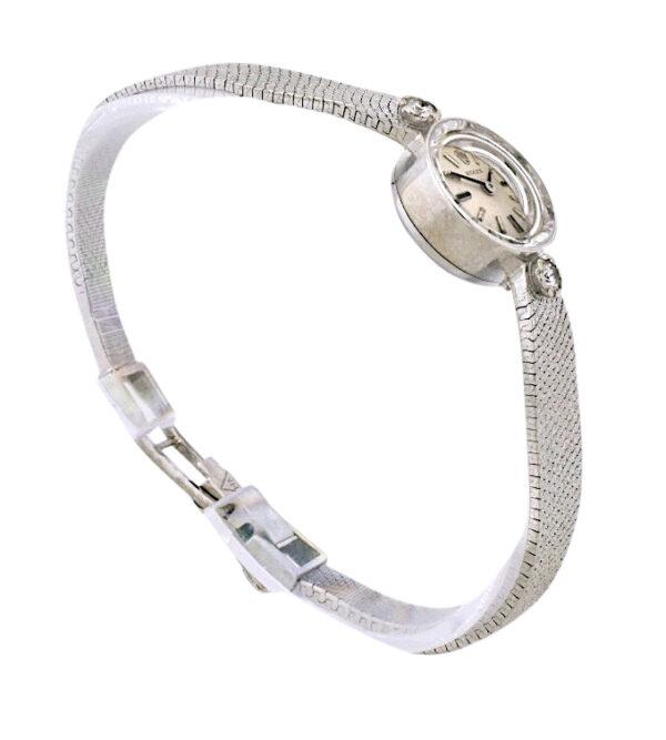Ladies Rolex Cocktail Watch 14k White gold