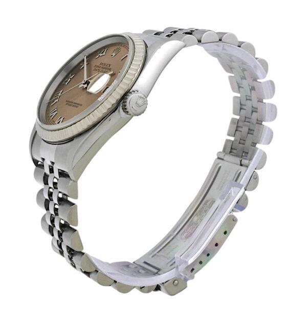 Rolex datejust 16234 salmon dial
