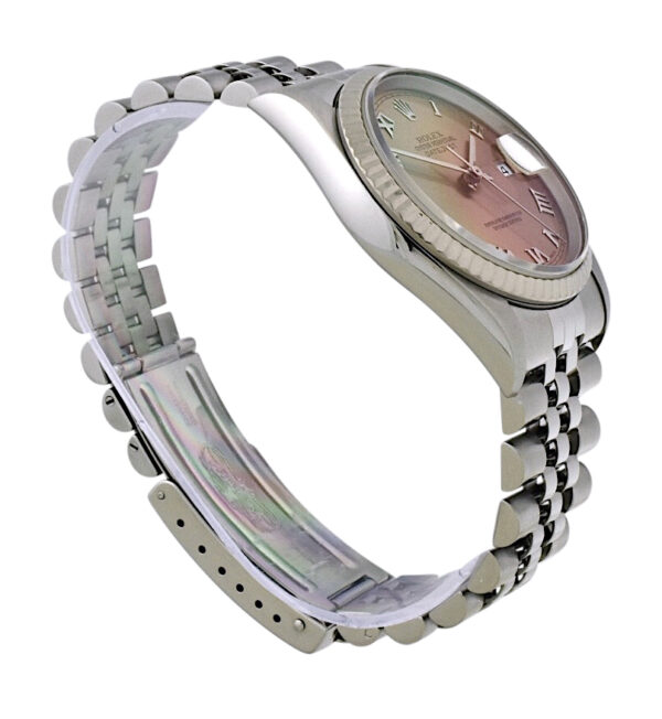 Rolex datejust salmon dial 36mm
