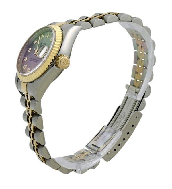 Ladies Rolex Datejust 26mm 179173 diamond dial