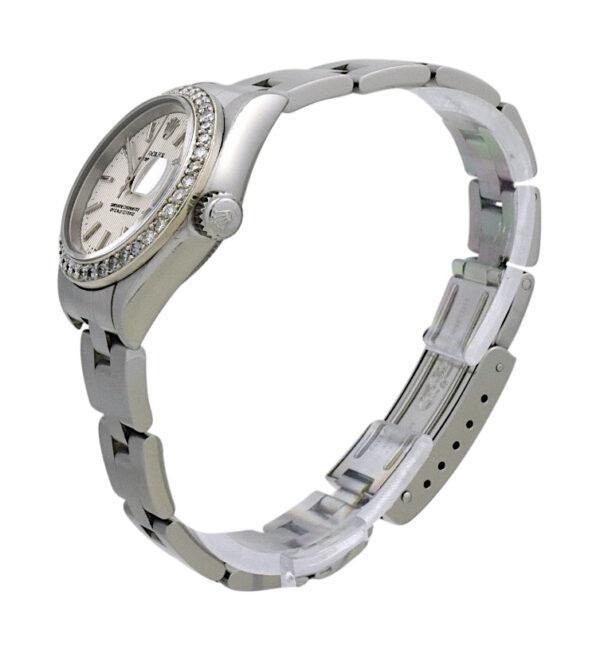 1999 Ladies Rolex Datejust 69160 Diamond bezel