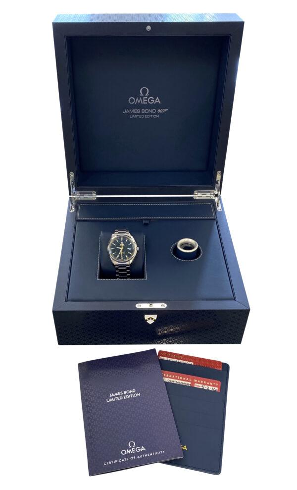 OMEGA Seamaster Aqua Terra James Bond Spectre Edition 234.30.41.21.01.004