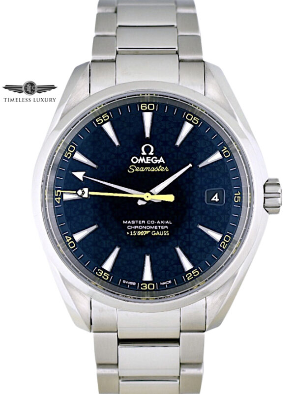Omega Seamaster Aqua Terra James Bond Spectre 234.30.41.21.01.004
